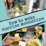 How to make sunrise moonshine woman with ingredients