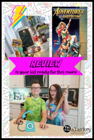 adventures in babysitting review add with kids holding rollings pins