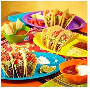taco dish - individual dishes