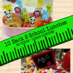 10 back to school lunches - no touch ad