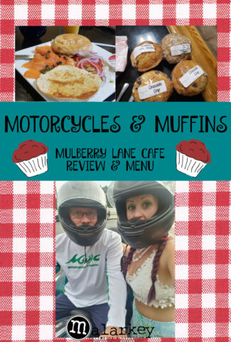 pinterest pin - motorcycles and muffins