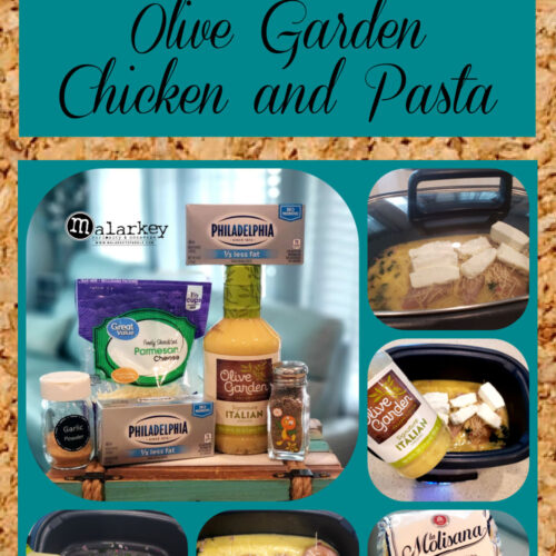 pinterest pin - how to make olive garden chicken and pasta