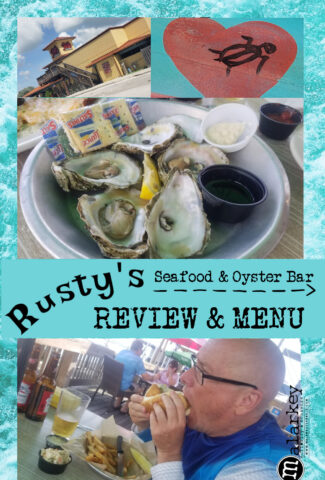 rusty's review and menu