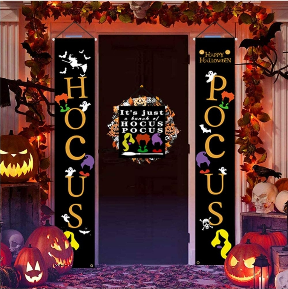 hocus pocus banners for the house
