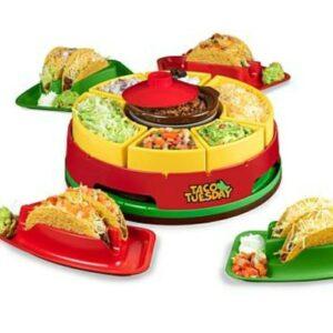taco tuesday dish and sorter