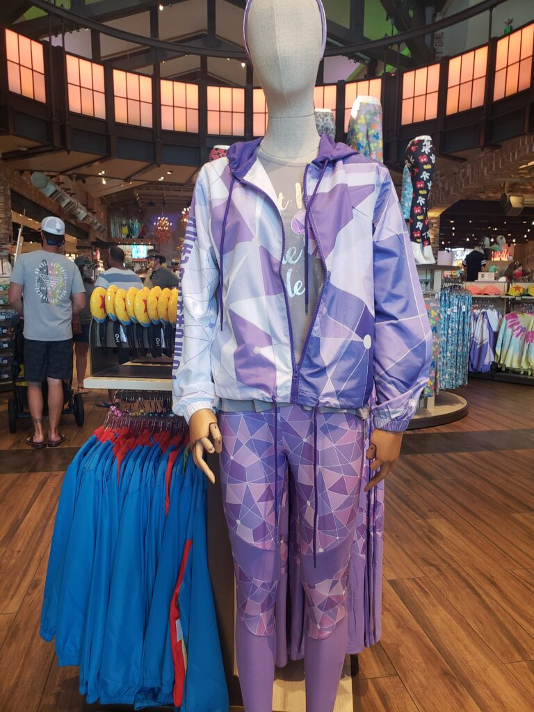 epcot ball running suit