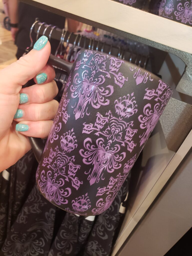 disney halloween swag - haunted mansion cup