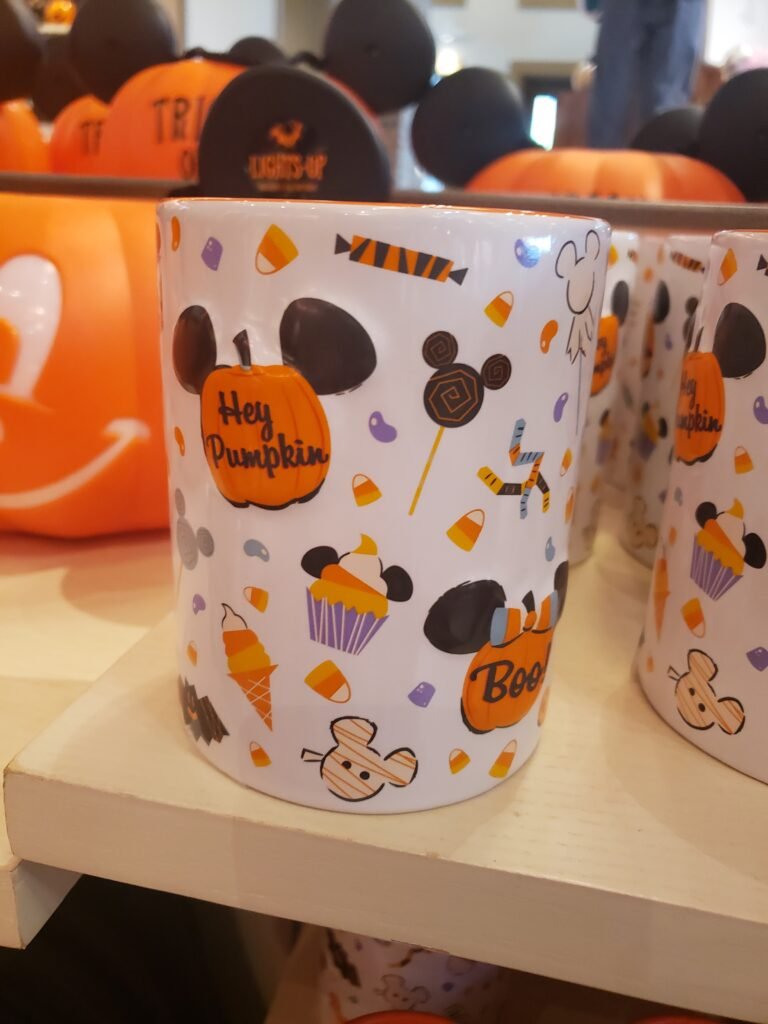 disney halloween swag - candle