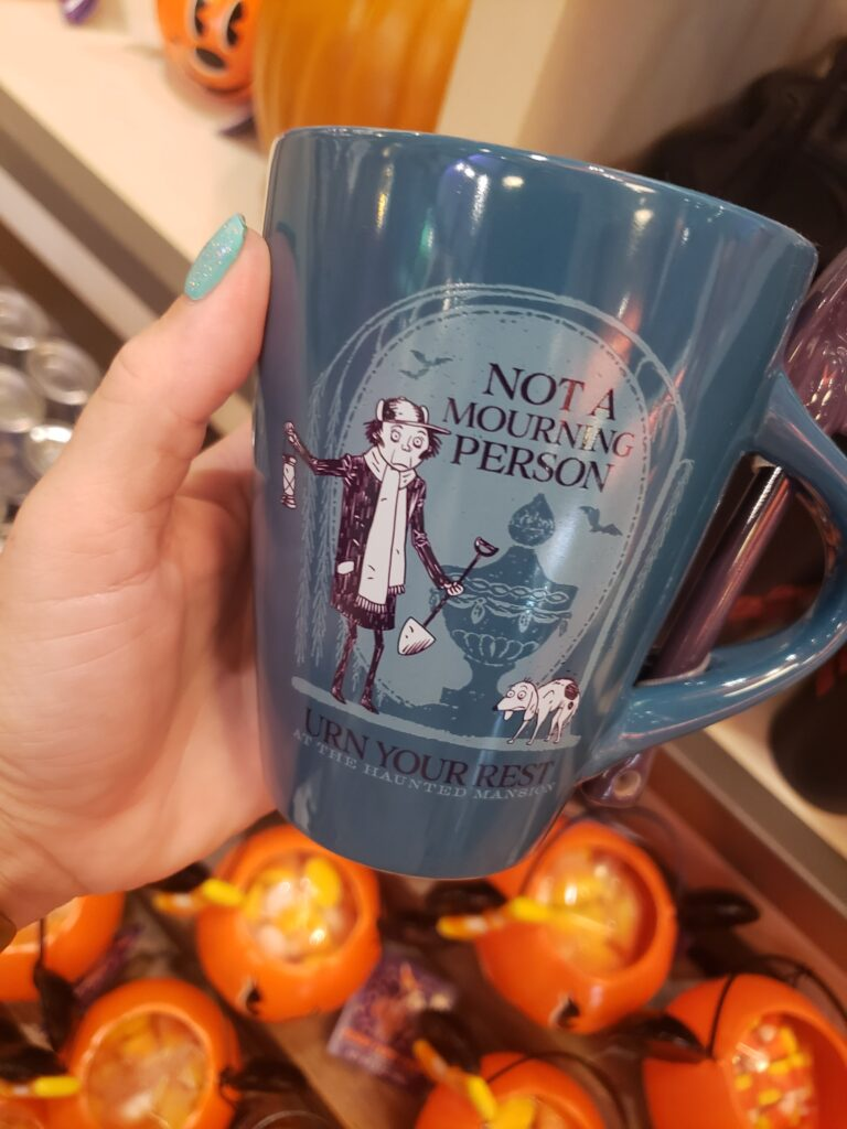 disney halloween swag - not a mourning person