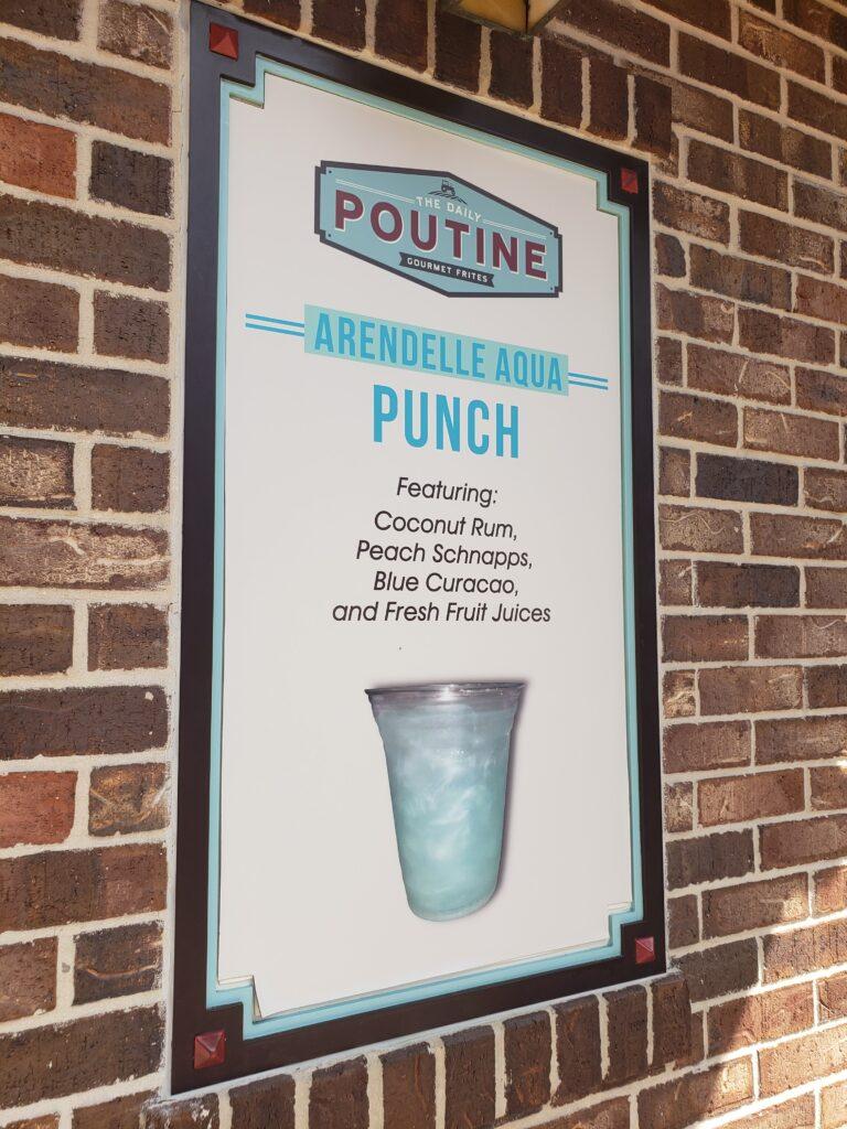 poutine drink menu arendelle punch