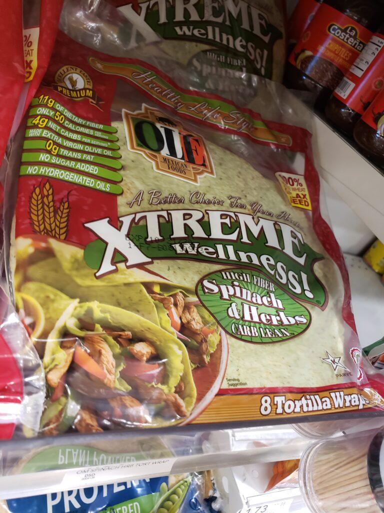 xtreme wellness shells - spinach herbs