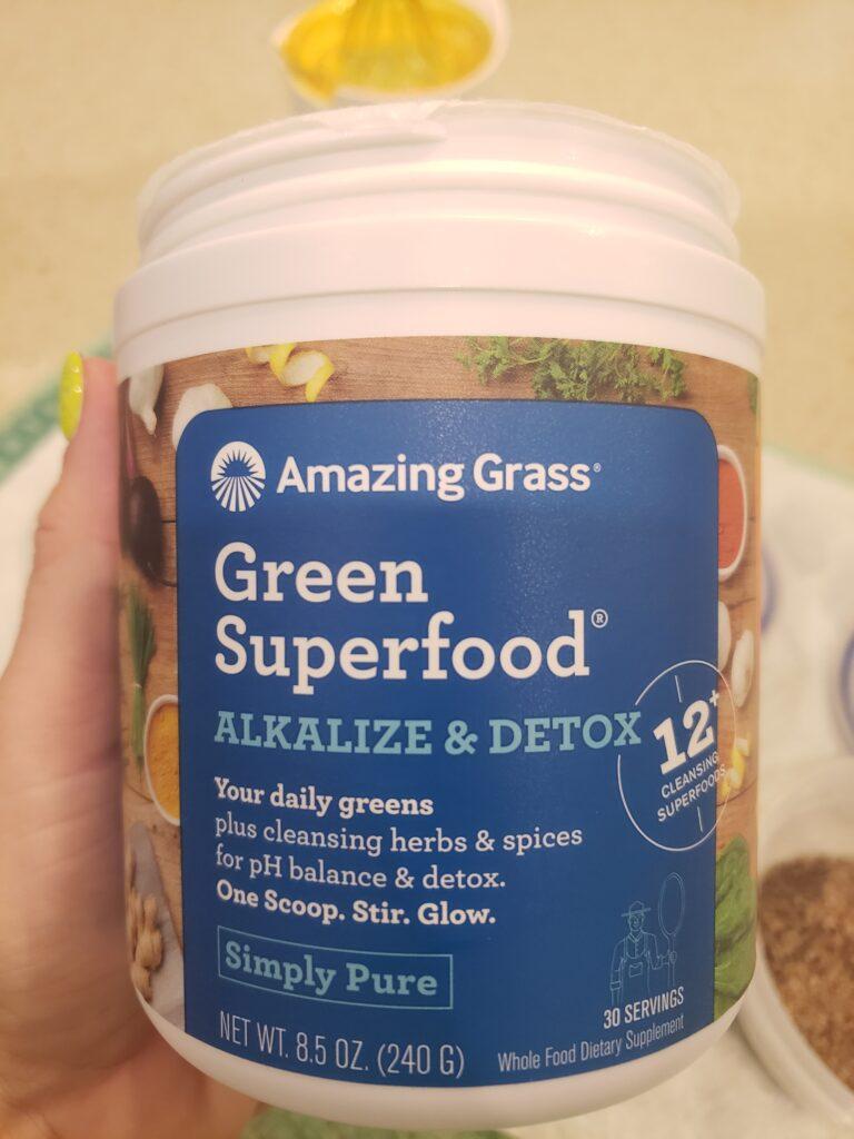 green super food - detox