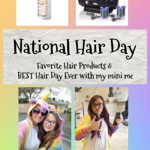 national hair day pin