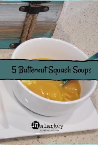 5 butternut squash soups