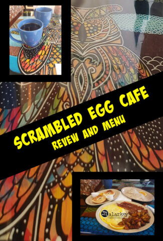 scrambled egg cafe review and menu