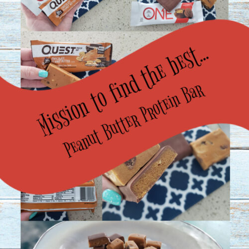 mission to find the best peanut butter protein bar