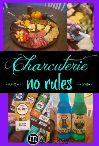 charcuterie board pin for pinterest