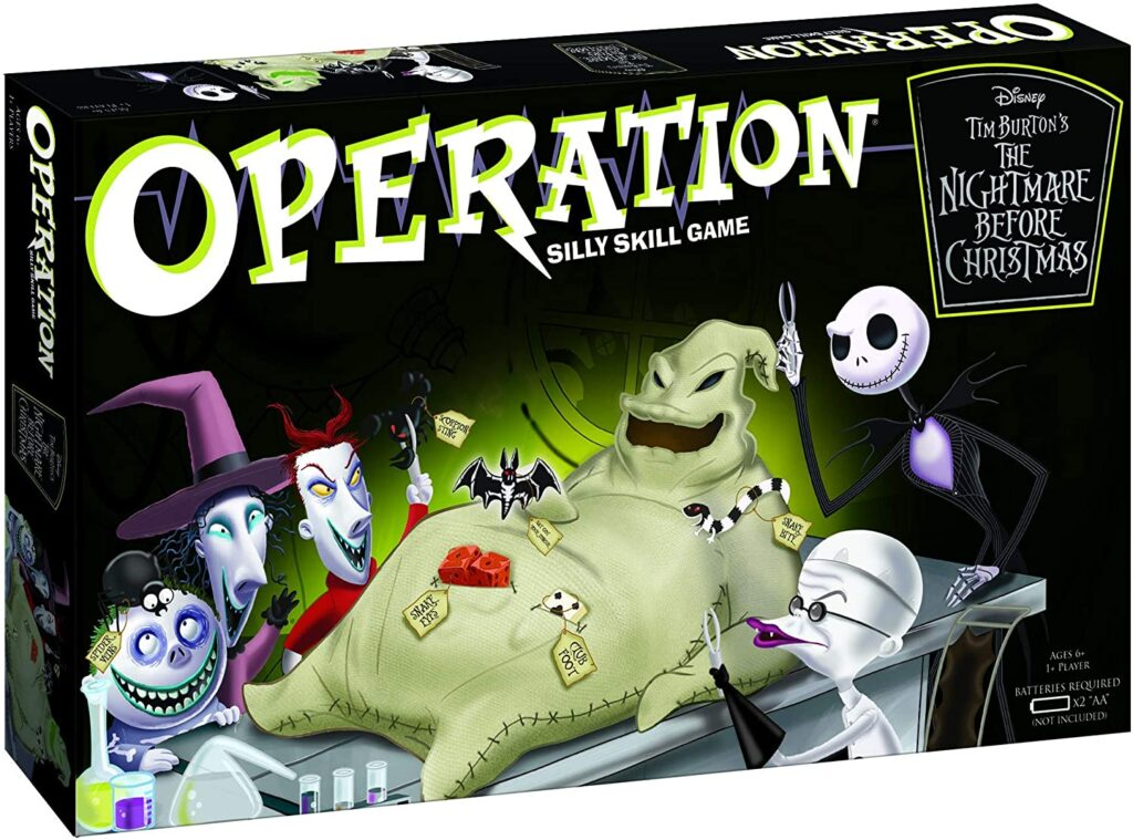 nightmare before xmas - operating game