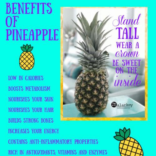 pineapple pin benefits list