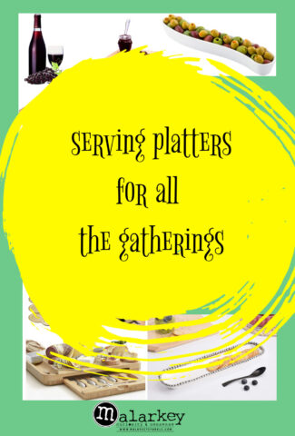 seerving platters