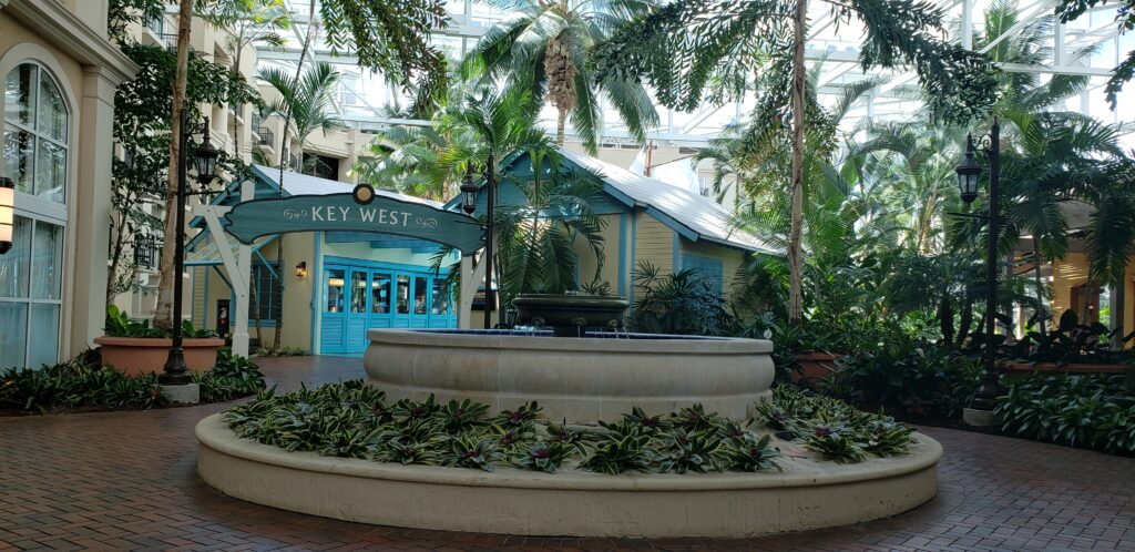 key west area inside the gaylord palms