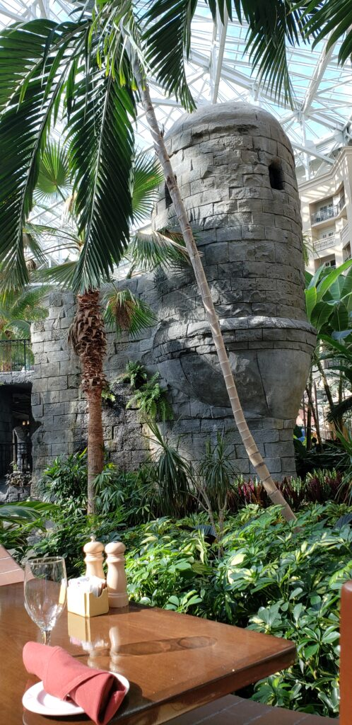 gaylord palms - building inside the hotel