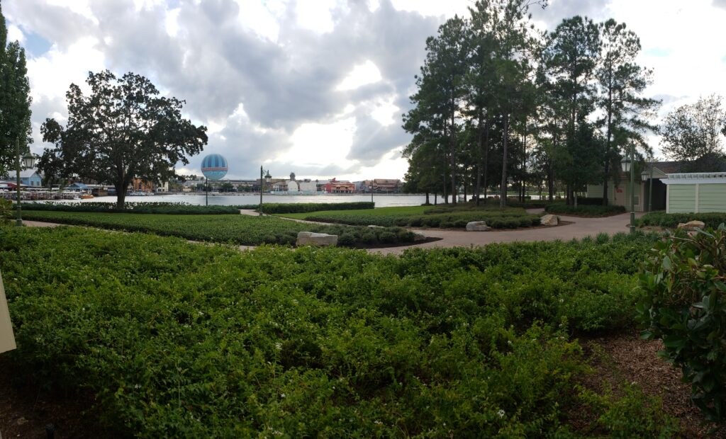 disney saratoga view of disney springs
