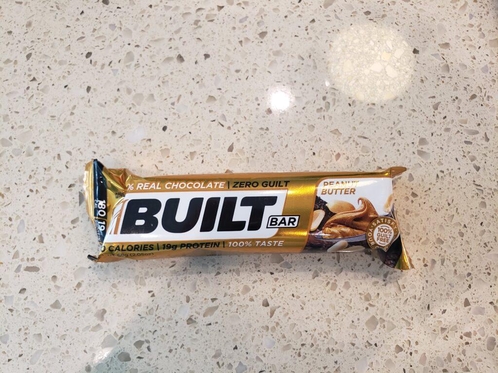 built bar - peanut butter
