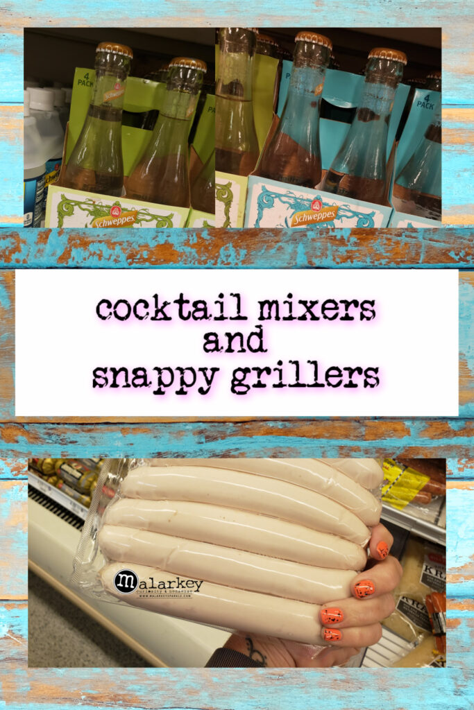 cocktal mixers and snappy grillers