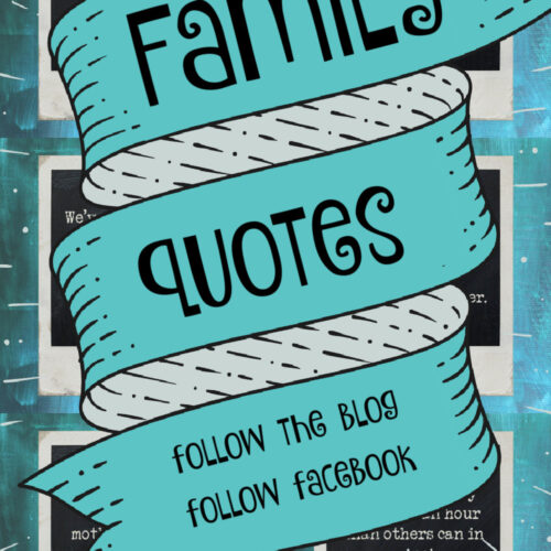 6 quotes with wording family quotes on top