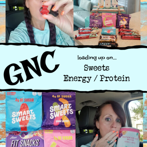 gnc sweet - wordking over the sweets
