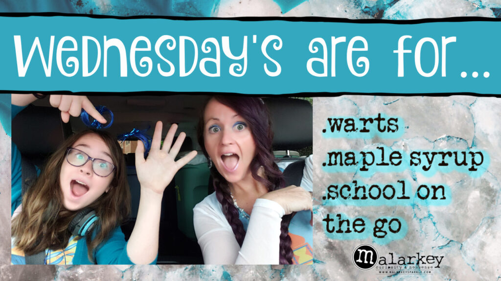 2 girls in a car with the owrkind wednesday are for...