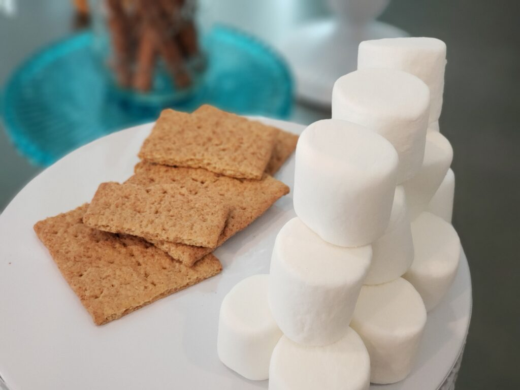 marshmallows for the epic chocolate fountain
