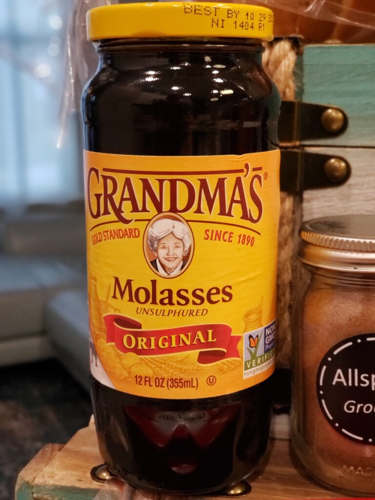 a jar of molasses to make the The best french toast
