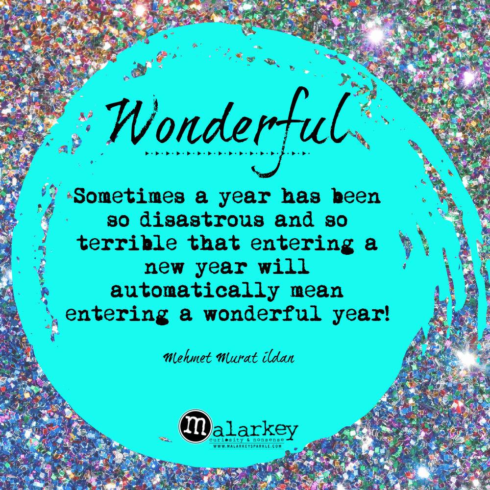 wonderful new year quote