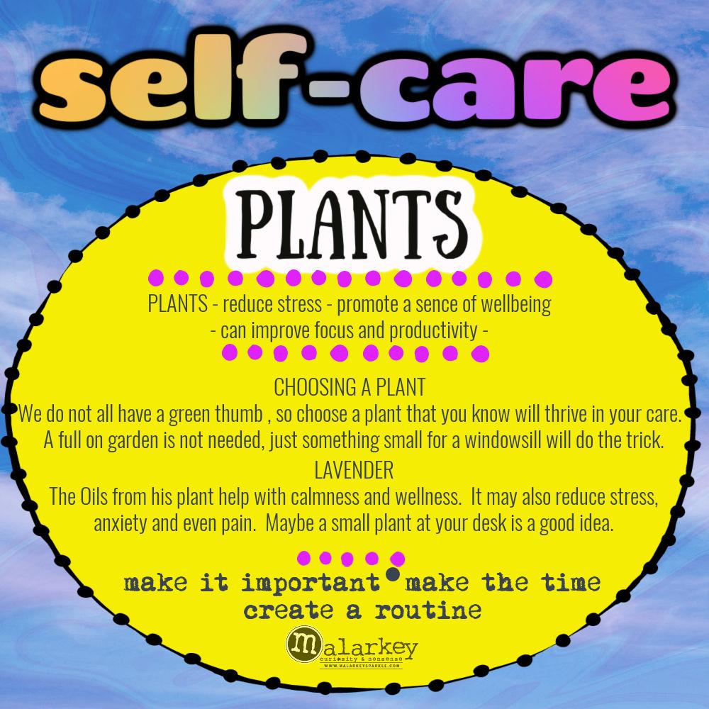 self care plants