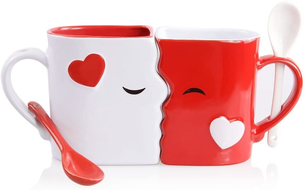 Valentines Day - spread love - face mung set