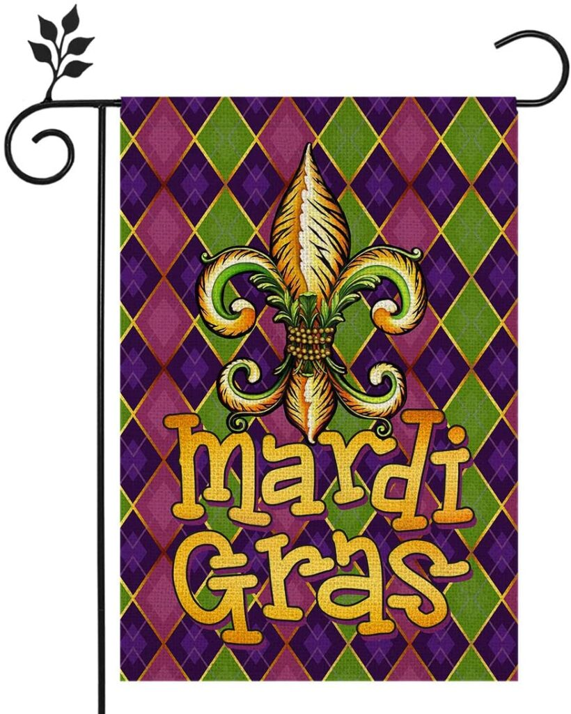 flag - mardi gras - let the good times roll