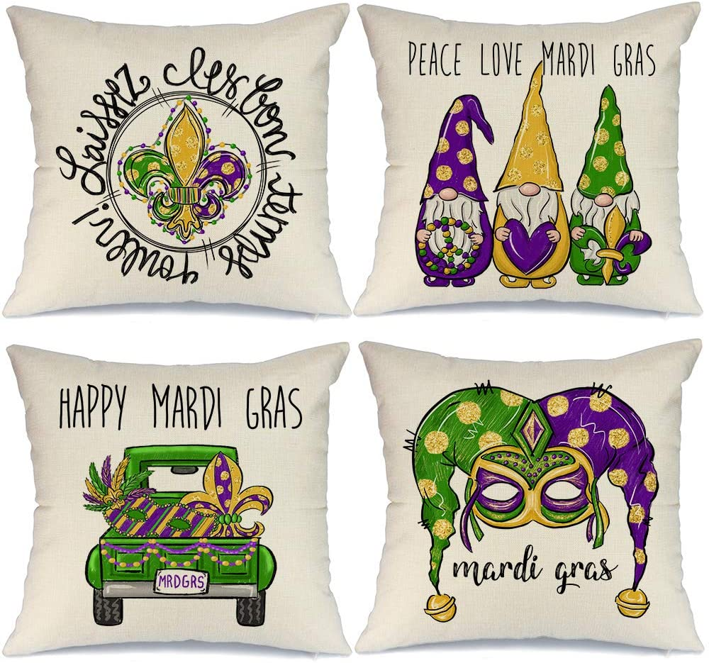 pillows - mardi gras - let the good times roll