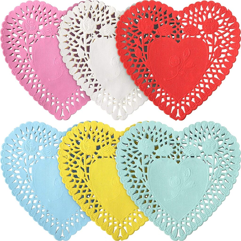 Valentines Day - spread love - doilies