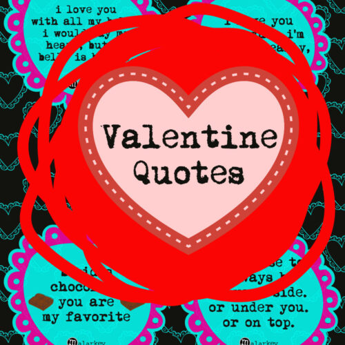 valentine day quote - pin