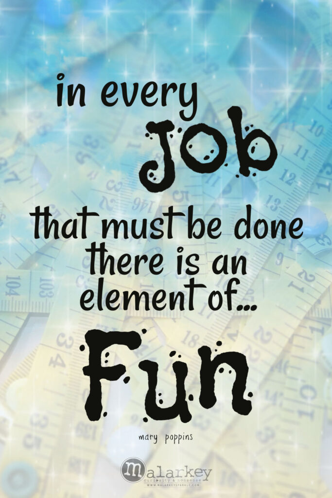 Mary Poppins - Practically Perfect in Every way - job quote