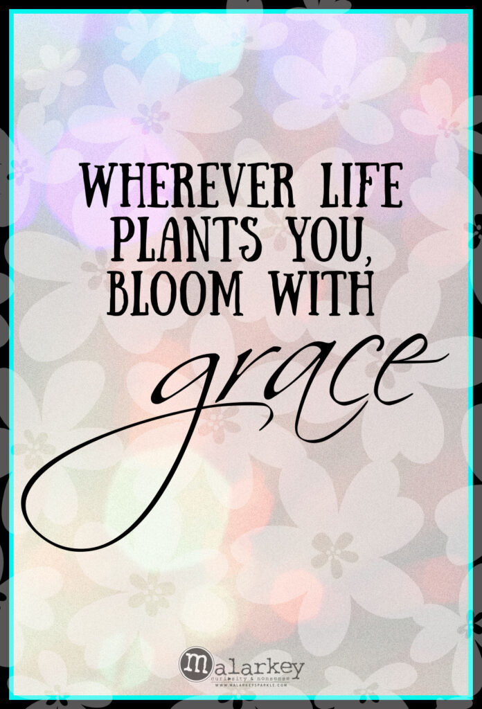 quotes on grace - and planting it