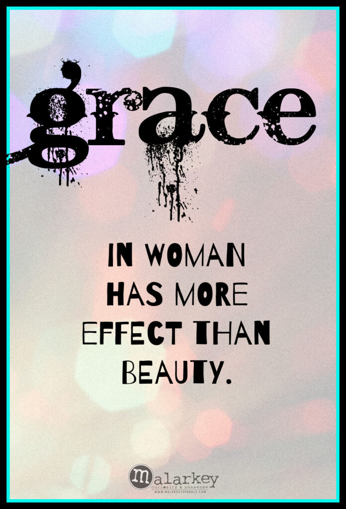 quotes on grace and beauty