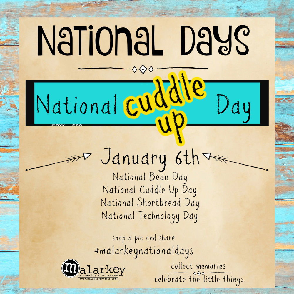 National Days - Let's Celebrate - cuddle up