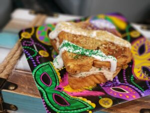Mardi Gras French Toast - Let the good times roll