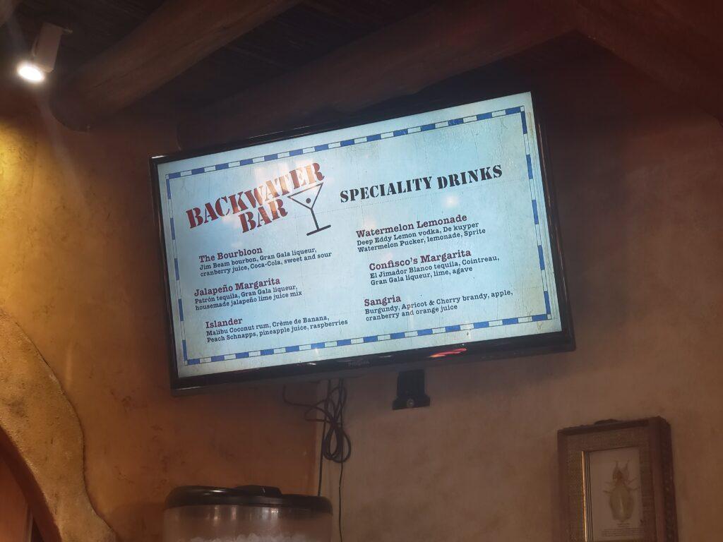 Universal Studios Backwater Bar