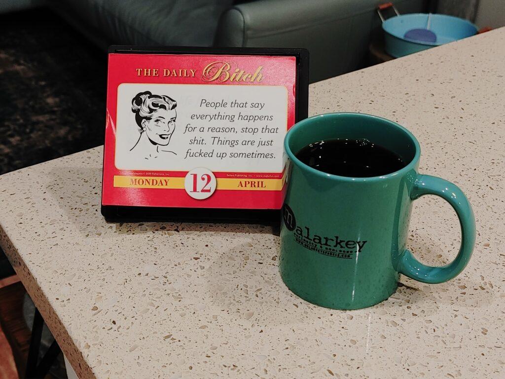 monday malarkey coffee