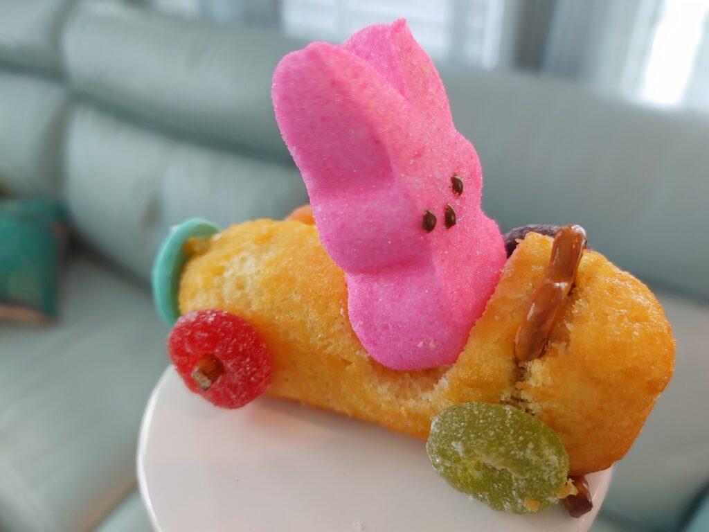 Twinkie bunny cars
