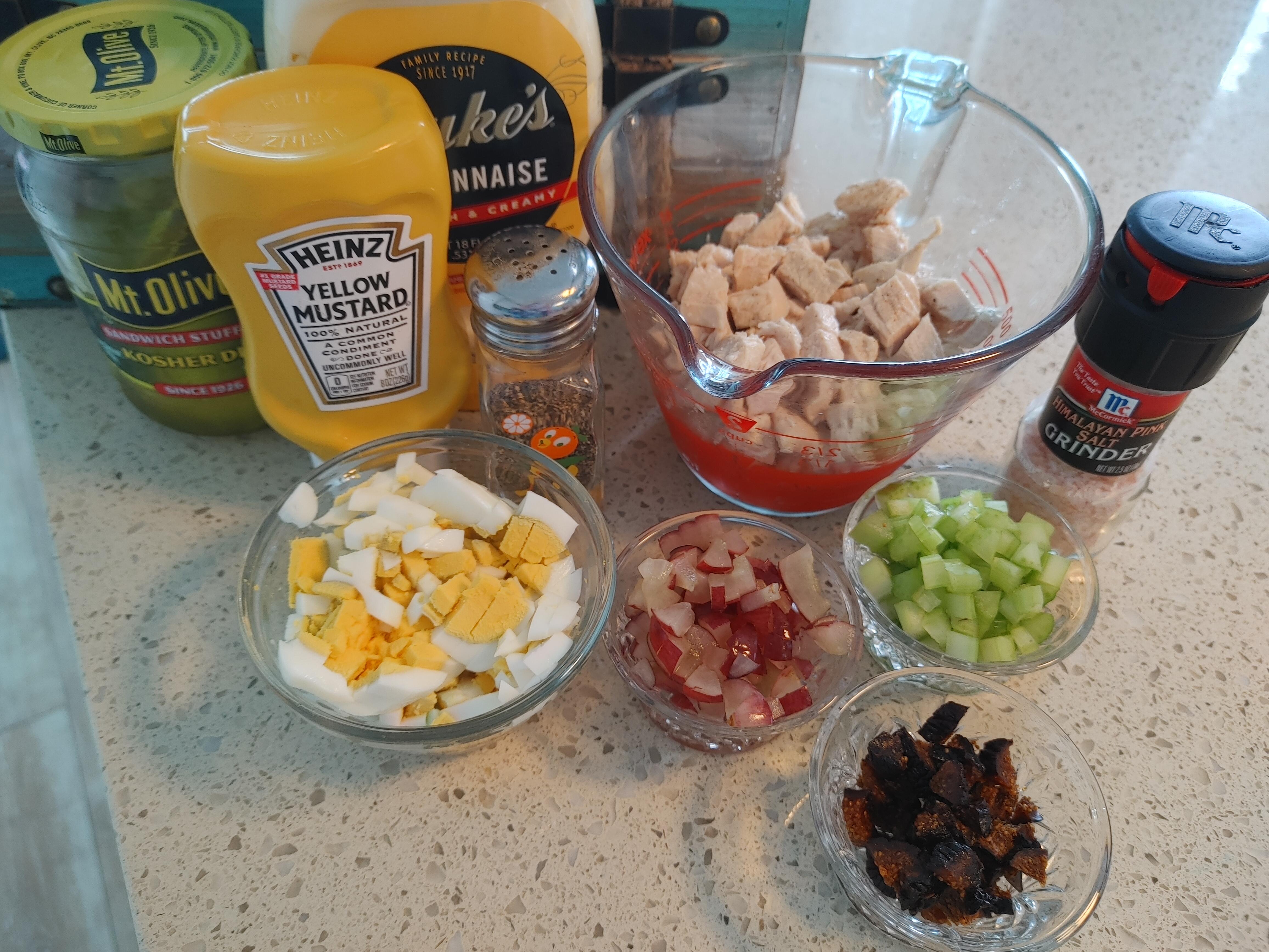 summer chicken salad recipe